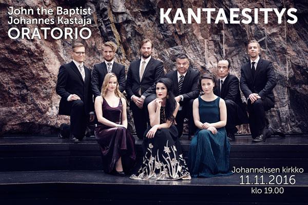 John the Baptist oratorio kantaesitys Kuva: Olga Poppius