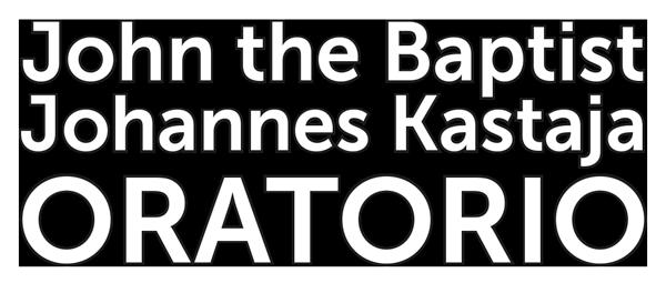 Johannes Kastaja oratorio logo