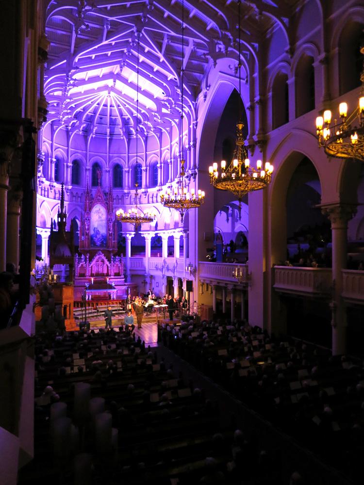 John the Baptist oratorio kantaesitys Johanneksenkirkko 11.11.2016