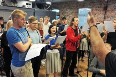 Oratorion yhteiset harjoitukset ovat alkaneet