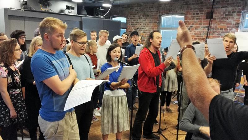 John the Baptist -oratorion harjoitukset 4.9.2016