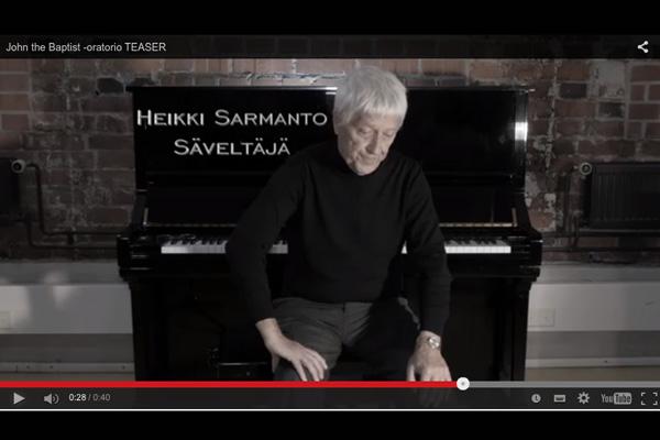 Heikki Sarmanto John the Baptist oratorio